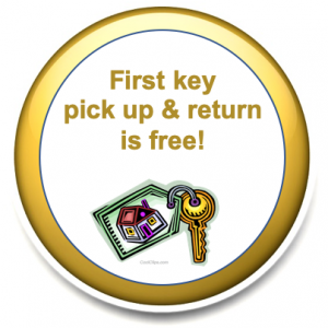 Key Return pet sitters pick up and return key free of charge