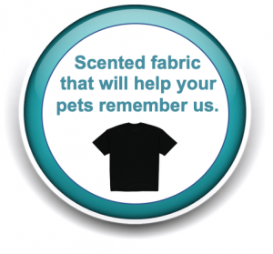 Scented Fabric That Will help your pets remember their pet sitters